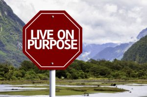 With clarity of life purpose comes the power to take action and live on purpose